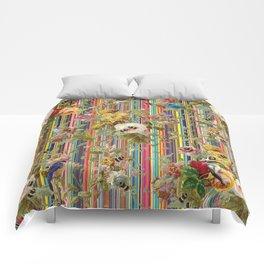 Summer Rose Garden Comforters