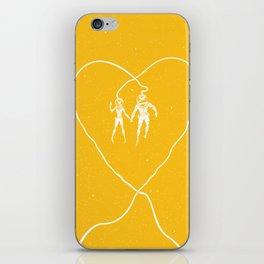 Love Space, Yellow iPhone Skin