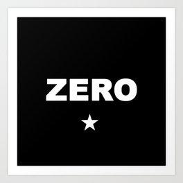 SP SmashingPumpkins Zero Art Print