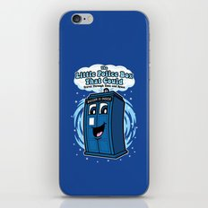 The Little Police Box iPhone & iPod Skin
