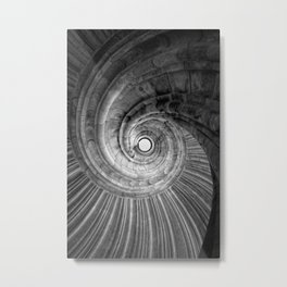 Winding staircase Metal Print