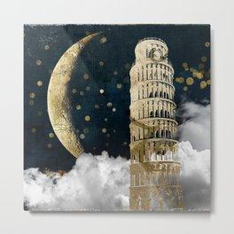 Cloud Cities Pisa Metal Print