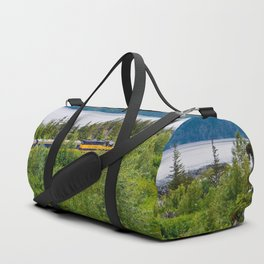 Alaska Passenger Train - Bird Point Duffle Bag