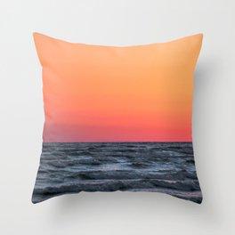 Sandbanks Sunset #1 Throw Pillow