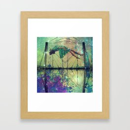 Bridging Time Framed Art Print