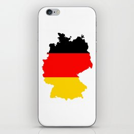 germany flag map iPhone Skin