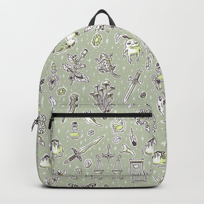 Witchcraft Pattern Backpack