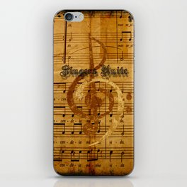 singers unite iPhone Skin