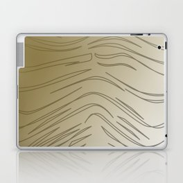 WILD SWEET gold design lines Laptop & iPad Skin