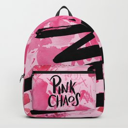 pink chaos Backpack