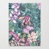 splash Canvas Prints featuring Splash by Vikki Salmela
