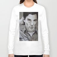 benedict cumberbatch Long Sleeve T-shirts featuring Benedict Cumberbatch | Sherlock by Marie | Gib
