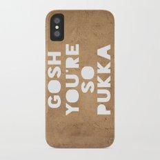 Gosh (Pukka) iPhone X Slim Case