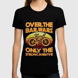 BAR WARS Funny Cycling Gift Bicycle Rider T-shirt