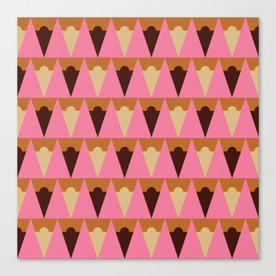 Ice Cream Cart Canvas Print