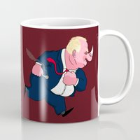 ford Mugs featuring Rob Ford by Chris Piascik