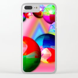 Bowling bowls Clear iPhone Case