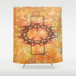 The Passion By Saribelle Rodriguez Shower Curtain