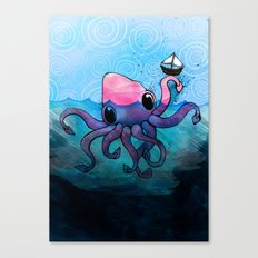 Krakken Canvas Print