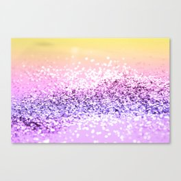 Unicorn Girls Glitter #12 #shiny #decor #art #society6 Canvas Print