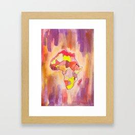 see the unseen Framed Art Print