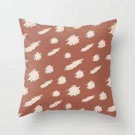 Baesic Cheetah Spots Throw Pillow