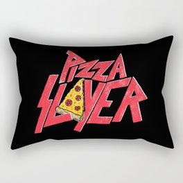 Pizza Slayer Rectangular Pillow