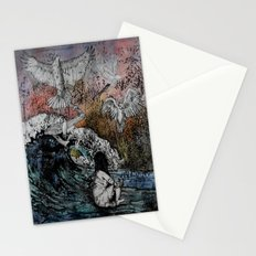 Feet of Crows Stationery Cards