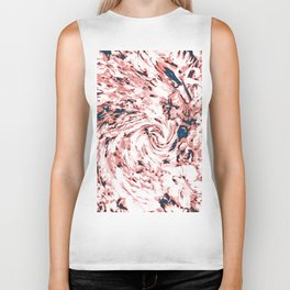 Rose Swirly Flowerz Biker Tank