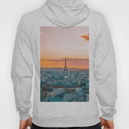 Sunset in Paris (Color) Hoody