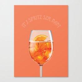Spritz Szn Canvas Print