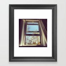 Window Framed Art Print
