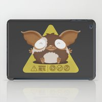 gizmo iPad Cases featuring gizmo by Eva Puyal