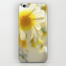 Wild Flowers in Watering Can iPhone Skin