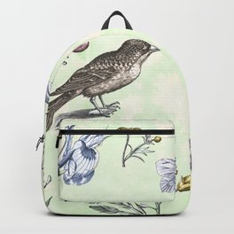 Nature is a temple Backpack