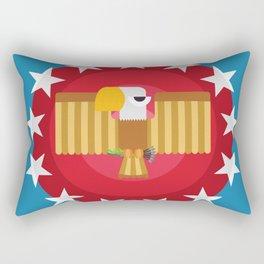 American (Blue) Rectangular Pillow