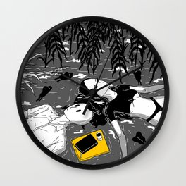 When the cicadas went and the crickets came. Wall Clock