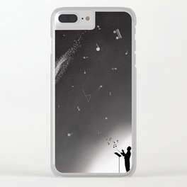 Song of the Stars Clear iPhone Case