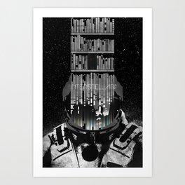 Interstellar Poster Art Print