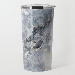 Gray Marble Texure Travel Mug