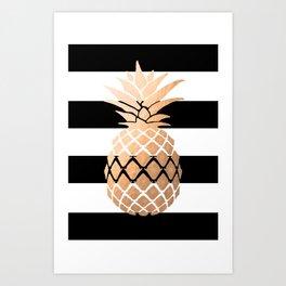 Pineapple Vibes Art Print