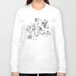 Ink Thoughts Seven Long Sleeve T-shirt