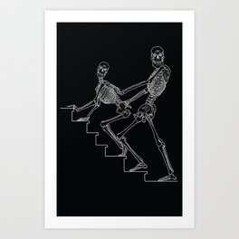 Skeleton Sex #1 Art Print