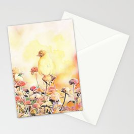 Little Gold Finch Stationery Cards