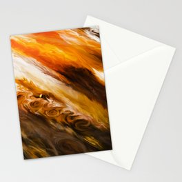 Clouds of liquid paint Stationery Cards
