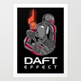Daft Effect Art Print