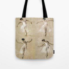 Ballet Girl Tote Bag