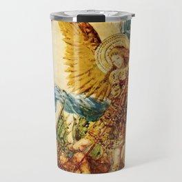 """Gustave Moreau """"Saint Michael"""" Travel Mug"""