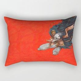 Birdman Rectangular Pillow