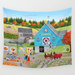 Bountiful Harvest Wall Tapestry